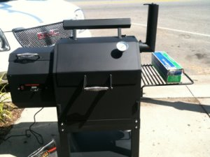 SmokingPit.com - All Things BBQ Yoder YS480 Pellet Smoker & Grill prototype. More to come!
