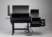 http://www.Smokingpit.com - Yoder Wichita wood burning BBQ Pit by Yoder Smokers