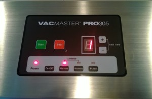 SmokingPit.com -  Vacmaster Pro 305 vacuum sealer digital display