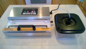 SmokingPit.com - VacMaster Pro 305 vacuum sealer marinating mode