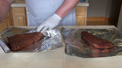 SmokingPit.com - Hoisin Marinated Tri-Tip Roast Beef - Slow smoked on ...